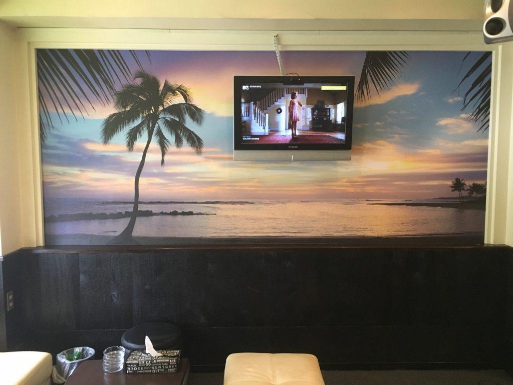 ハワイをイメージにしたオリジナル壁紙